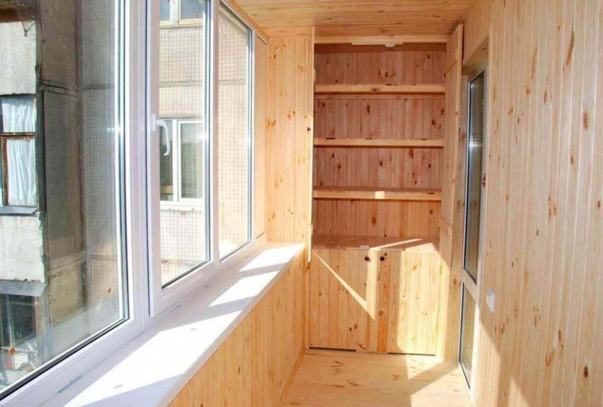 Отделка балкона вагонкой: пошаговая видео-инструкция по монт.