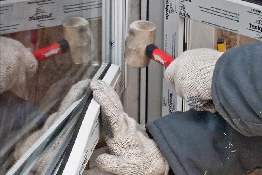 Замена стеклопакета в деревянных окнах своими руками 81