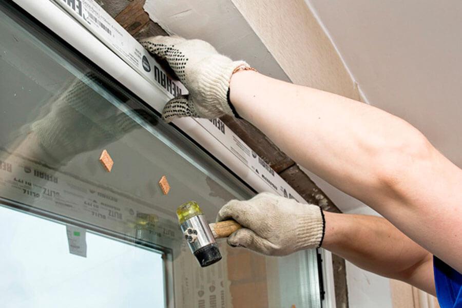 Как снять стекло из пластикового окна своими руками 66