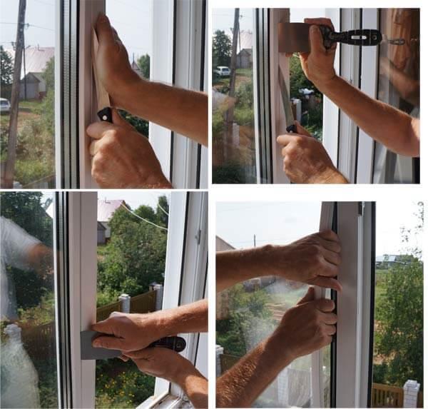Самостоятельная замена стекла в стеклопакете