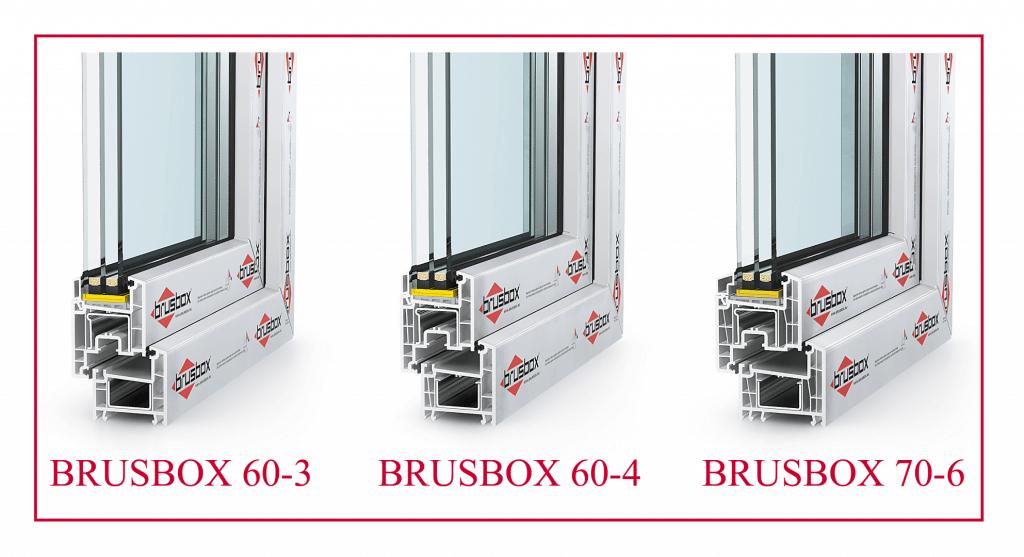 Оконные профили Brusbox